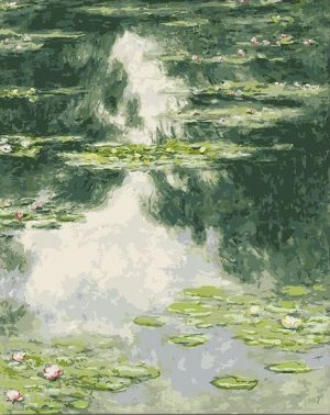 Green Water Lilies by Claude Monet
