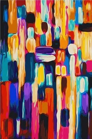 Colorful Shades by Wassily Kandinsky