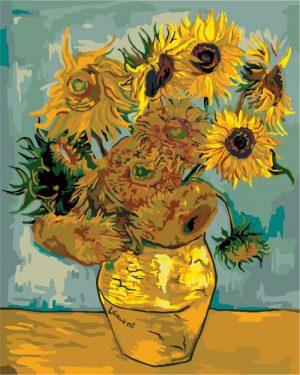 Sunflowers (1889) by Vincent van Gogh