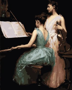 The Sonata (1889) by Irving Ramsay Wiles
