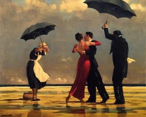 Tango Square under the rain