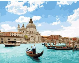 Venice Seascape in Italy