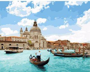 Venice Seascape in Italy