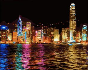 Hong Kong by the sea