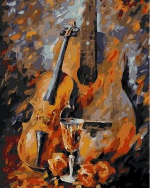 Romantic Guitar and Violin by Leonid Afremov