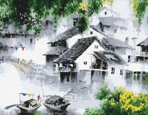 Peaceful Village in China