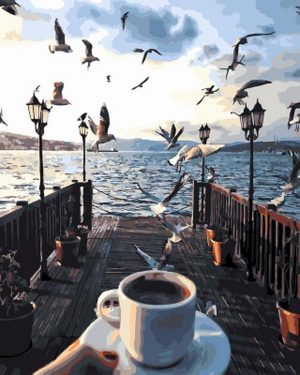 Coffee and Seaguls