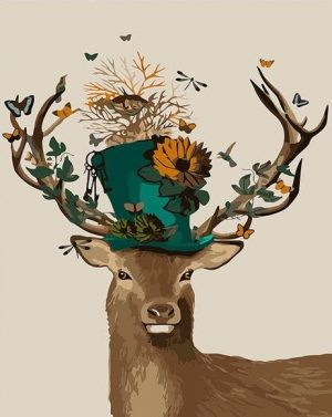 Deer and a Top Hat